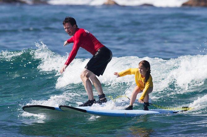 Semi Private Surf Lesson in Kona, Hawaii