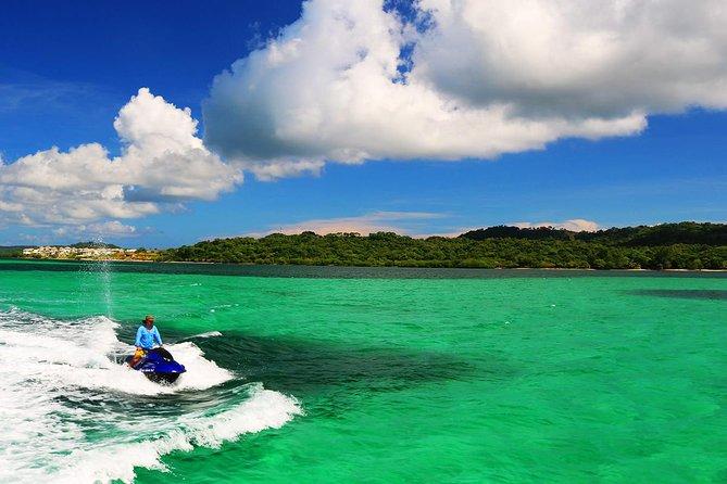 North Side Blue Channel & Starfish Snorkeling, 20min JetSki, Transfer Included