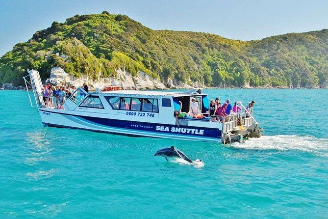 Cruising with Abel Tasman Sea Shuttles
