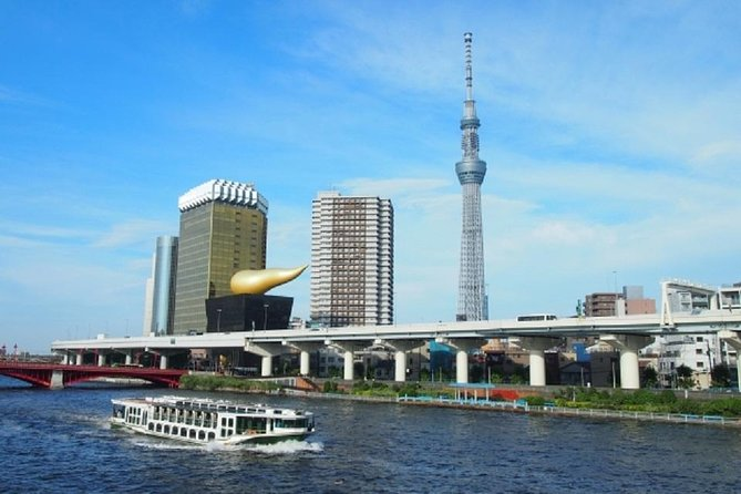Tokyo Private Custom Tour With Water Bus Ride