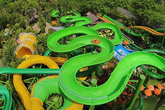 Bali Waterboom with 2 Hour Spa and Romantic Jimbaran Dinner