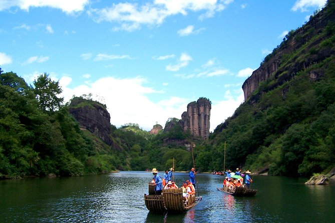 Wuyi Mountain 3-Day Retreat by Bullet from Shanghai