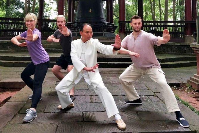 Chengdu Tai Chi Martial Art Class in the Morning