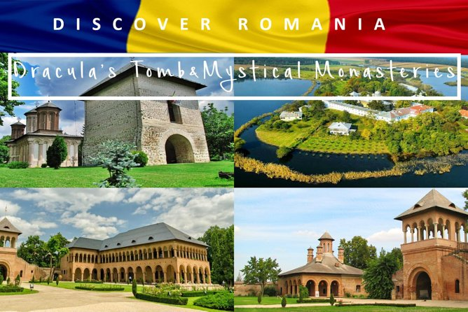 Dracula's Tomb and Mystical Monasteries - Private Car HalfDay Tour