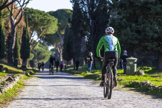 Rome E-Bike Small Group Tour of the Appian Way with Private Option