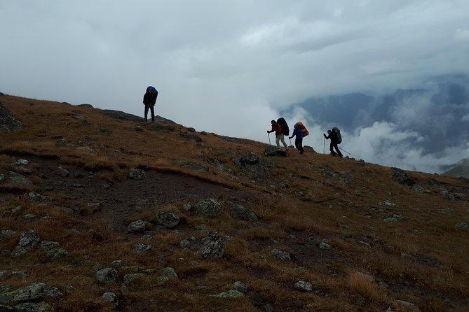 Georgia Climbing Caucasus Mount Kazbegi (5047m)