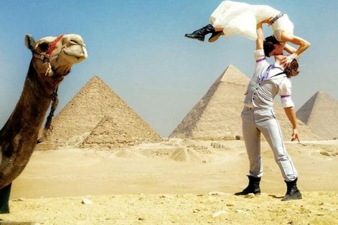5 Hour Half-Day Tour 9 Giza Pyramids Sphinx 1 H Camel Ride, Lunch