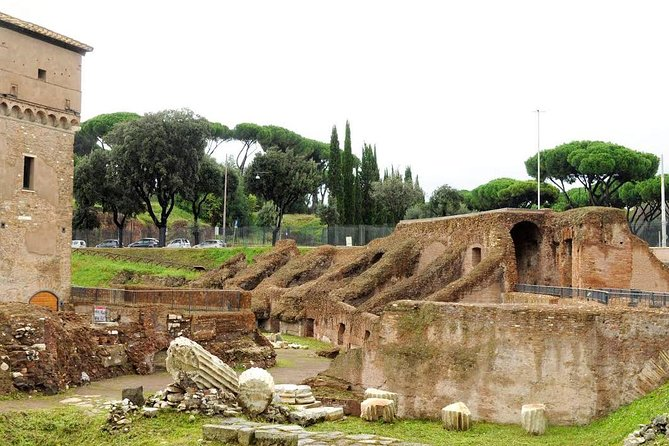 Circus Maximus Caracalla Bath and Aventine Hill Tour in Rome