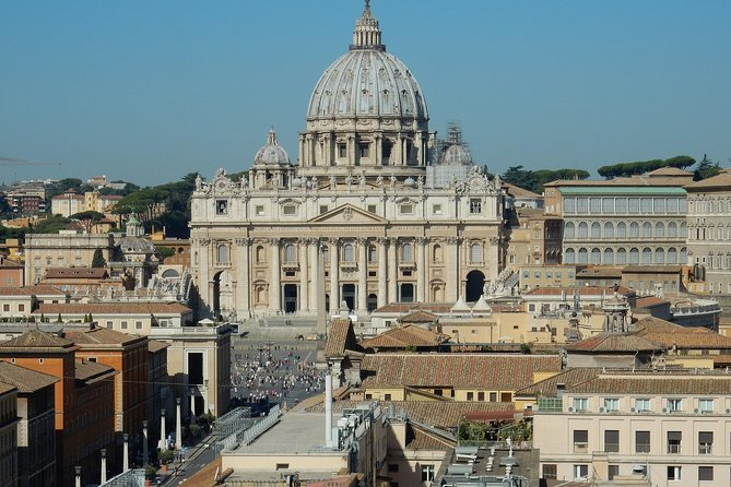 Skip the Line: Rome-St.Peter Basilica Audioguided Experience Ticket