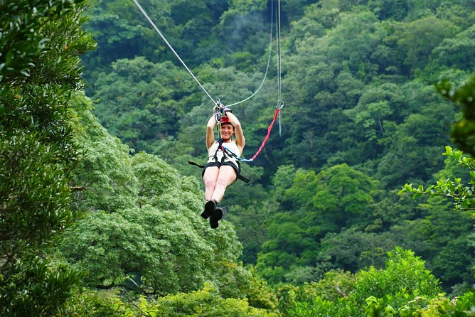 Zipline Tour in Braulio Carrillo National Park From San José