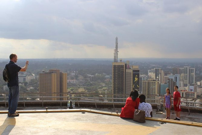 The Nairobi Skyline & Maasai Market!