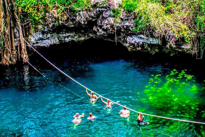 Discover the Adrenaline with our tour with Atvs ziplines and a real Mayan cenote photo 12