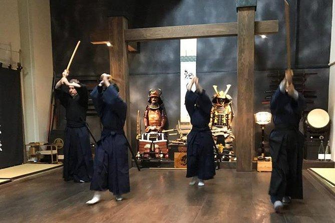 90-Min. Samurai Standard Experience : Sword, BoShuriken, Chain, Namba
