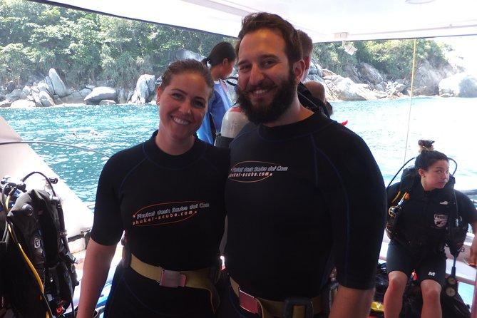 Refresher scuba diving trip, 3 dives at Racha Noi and Racha Yai