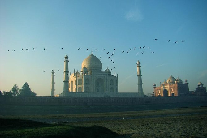 Sunrise and Sunset Taj Mahal Tour by Car from Delhi