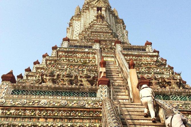 Bangkok Wat Arun and Wat Pho Half Day Tour