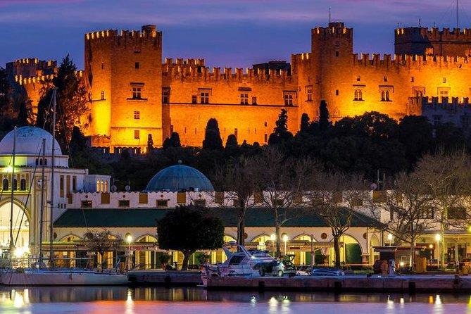 Rhodes By Night - Lanterns