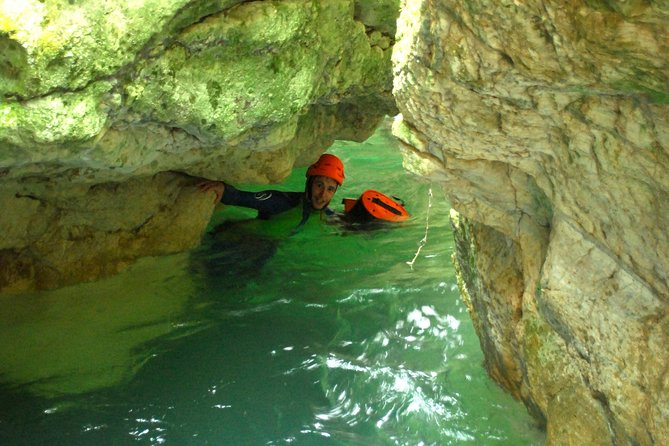 Canyoning discovery of Furon Bas in Vercors - Grenoble