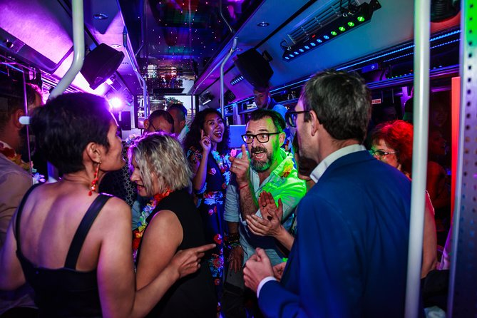 """Book your """"City-Night-Pass"""" and board the Discobus!"""