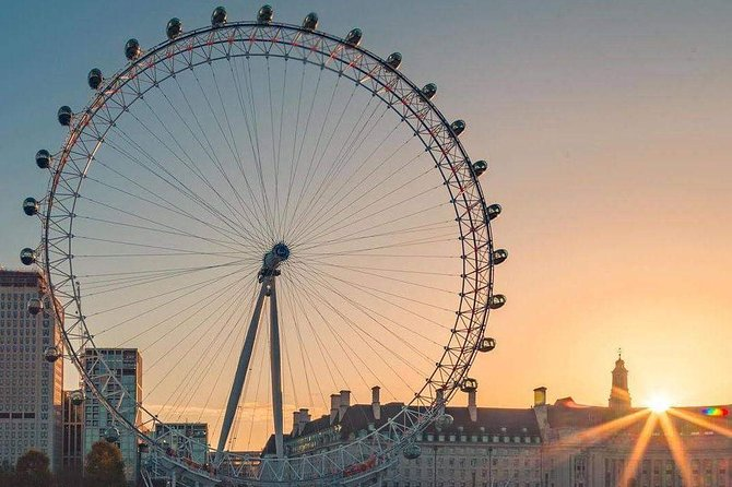 Westminster Walking Tour & London Eye Ticket