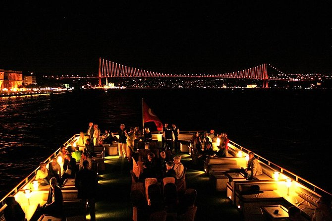 A Cruise on Bosphorus in the Night with Traditional Show photo 1