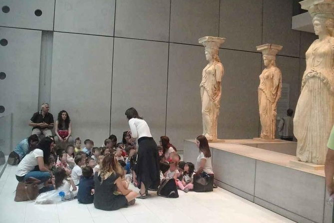 An alternative tour of the Acropolis Museum for kids