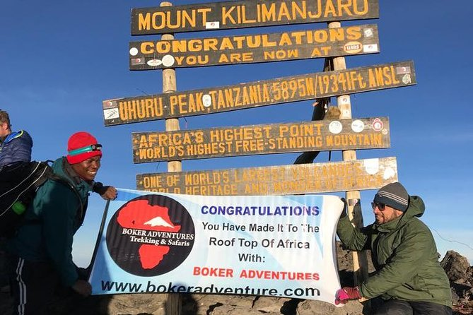 RONGAI ROUTE 6 DAYS TREK TO Mt KILIMANJARO WITH BOKER ADVENTURES