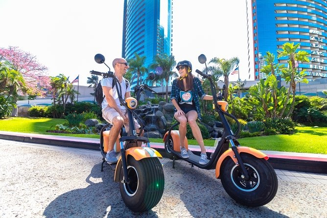 1Hr GPS Guided Scooter Tour: Harbor/Gaslamp Quarter