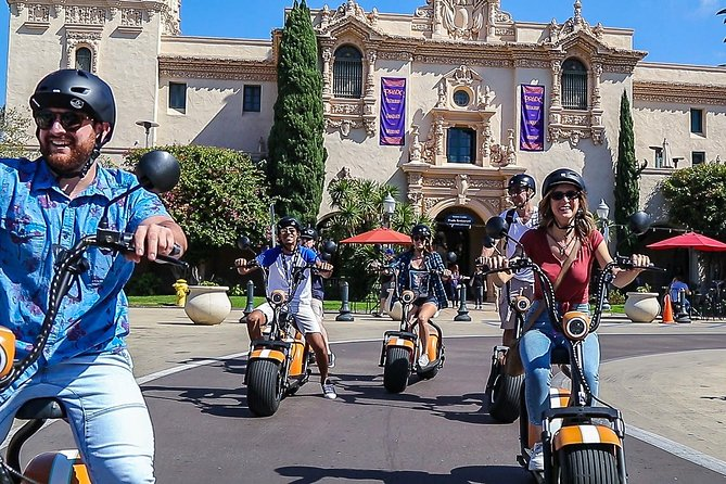 2Hr GPS Guided Scooter Tour: Downtown & Old Town