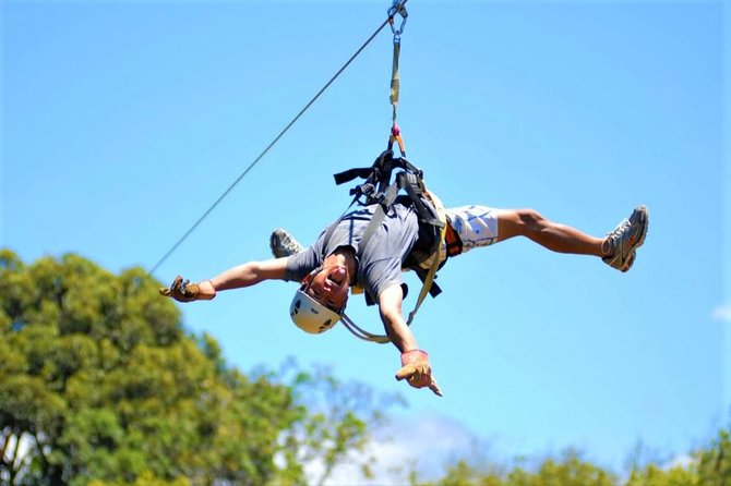 Maui's Best Adventure - Haleakala Bike & Zipline Tour