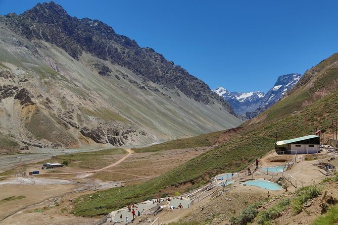 Volcanic Hot Springs in Cajon del Maipo - Andes Mountains