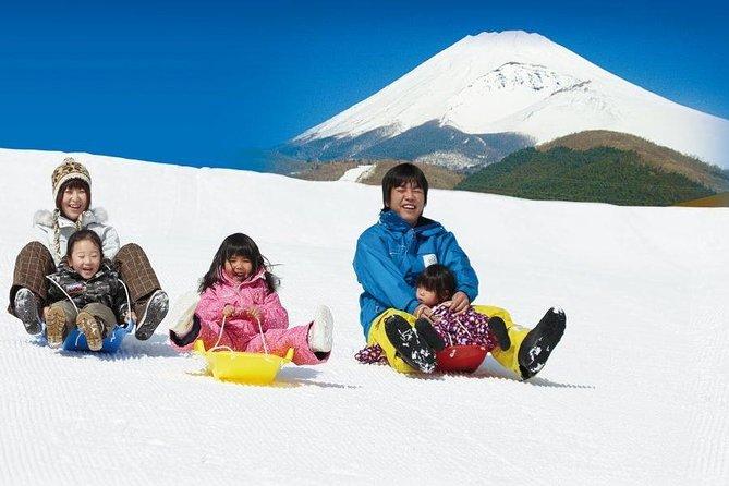 Sneoplevelse hos Mt. Fuji, Hakone piratskib og Gotemba Premium Outlets!