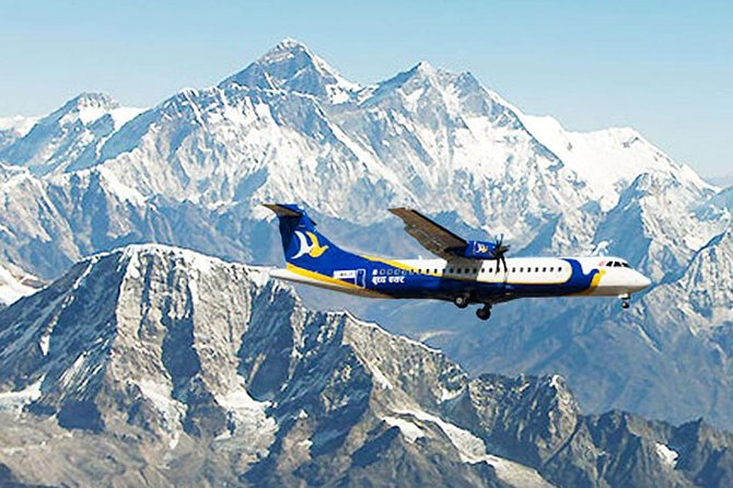 Everest Mountain Flight Tour with Ticket and Luxury Vehicle