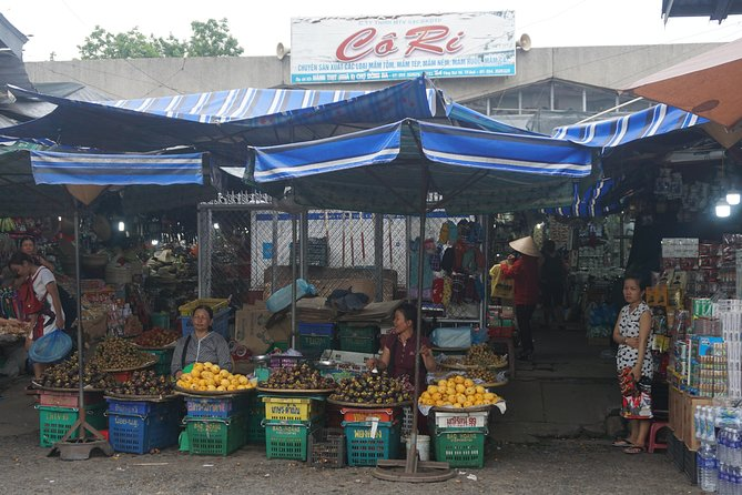 Local market in Hue