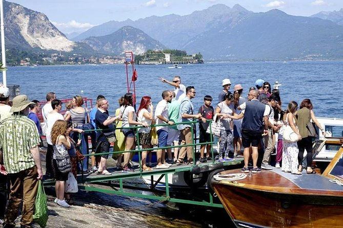 Stresa in 1-Day: 3 Borromean Islands Hop-On Hop-Off Boat Tour