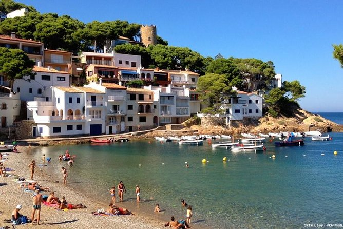 Private Costa Brava and Empuries Tour with Hotel Pick-Up and Panoramic Boat Ride