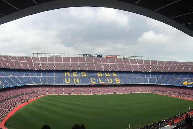 Barcelona Highlights and Camp Nou Private Tour
