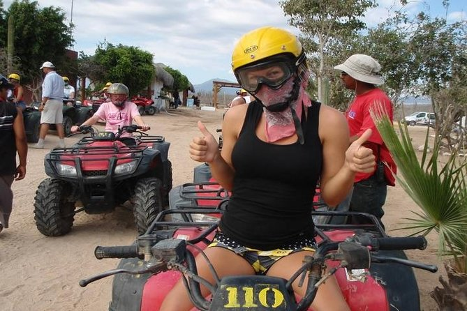 Los Cabos Single or Double ATV Beach and Desert Tour