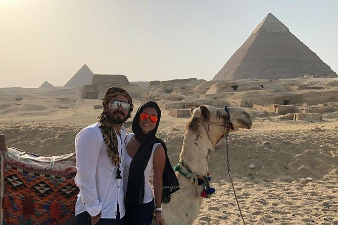 day tour to Egyptian museum and Giza pyramids by only driver