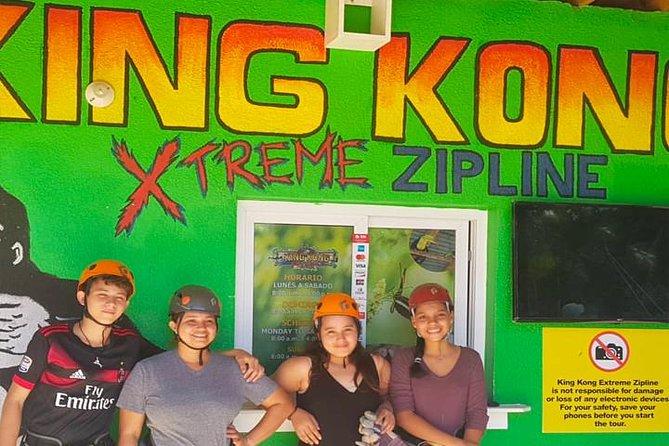 King Kong Extreme Zipline, City Tour and Transfer