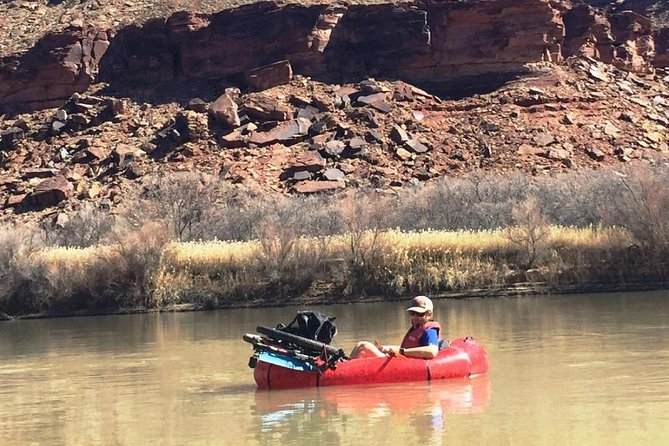 Relaxing on the Green River