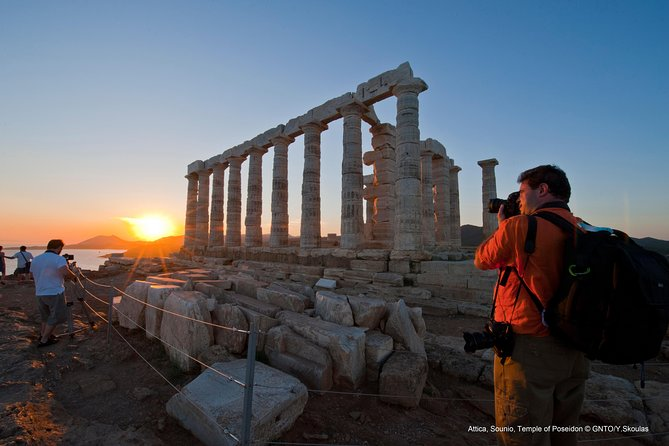 Cape Sounio & Temple of Poseidon Sunset Tour photo 3
