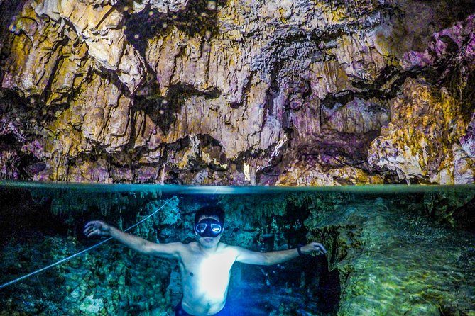 Tulum ruins cenote cave tour and swim with turtles from Playa del Carmen photo 8