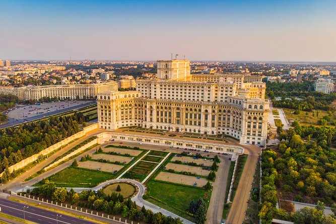 Full-Day Bucharest Tour with Mogosoaia Palace and Snagov Monastery