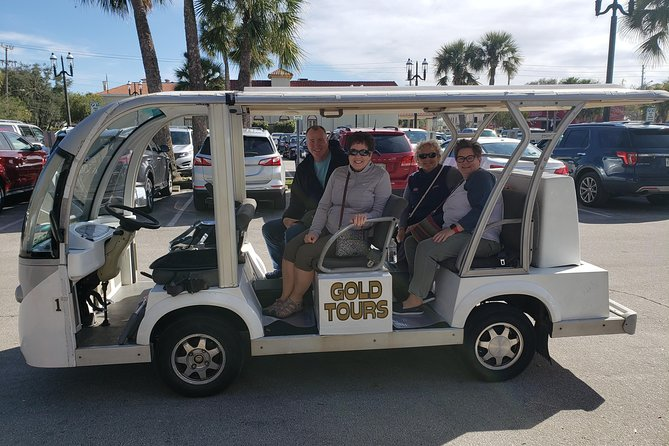 Private Guided Historic Electric Cart Tour of St. Augustine