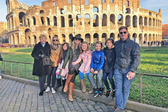 Colosseum For Kids & Families Semi-Private Tour with Skip-the-line Entrance