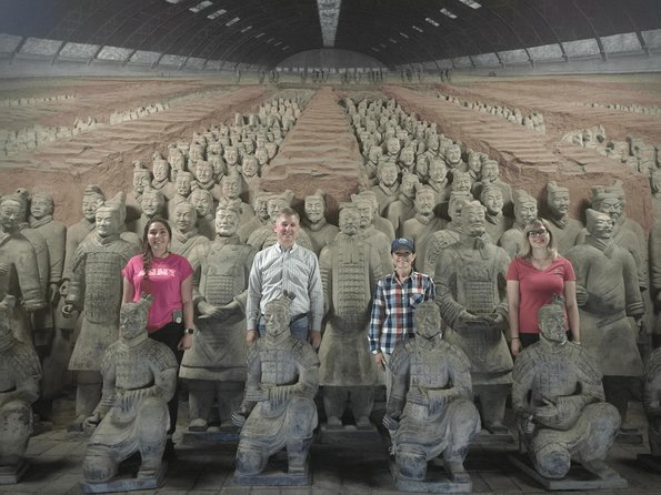 Terra-cotta Warriors tour of Capital Xian
