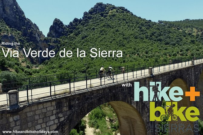 Cycling - Via Verde de la Sierra - 36km - Easy Level