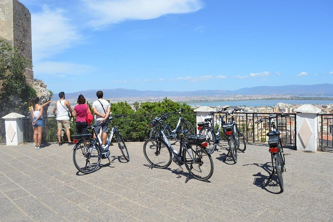 Guided Electric Bicycle Tour in Cagliari