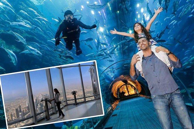 Dubai Aquarium & Level 124 Burj Khalifa Combo